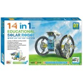 Ekta 14-in-1 Educational Solar Robot Kit