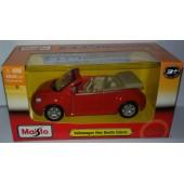"MAISTO  PowerKruzerz Pull Back Action4.5"" Volkswagen New BettleCabrio"