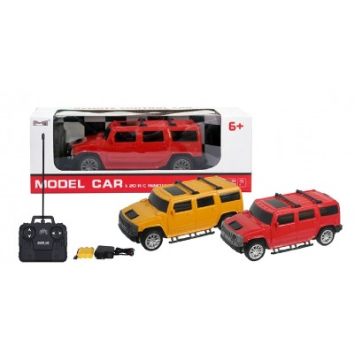 IMM Model Car Hummer 1:20 Remote Control (Red Colour)