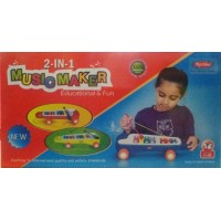 Marbles 2-in-1 Music Maker Xylophone