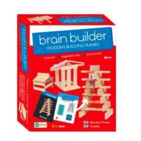 Ekta Brain Builder Wooden Building Blanks Set-2