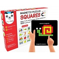 Play Panda Magnetic Puzzles Squares