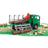 Bruder MAN TGA Timber Truck with Loading Crane