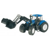 Bruder New Holland T8040 With Front Loader
