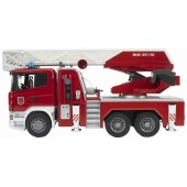 Bruder SCANIA R-SERIES FIRE ENGINE WITH WATER PUMP