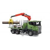 Bruder SCANIA R-SERIES TIMBER TRUCK WITH 3 TRUNKS