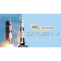 Dragon Saturn V Apollo 13 MIssion Rocket Scale 1/400