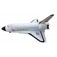 "Indian Model Makers Space Shuttle Pull Back action  Model 7"" Length"