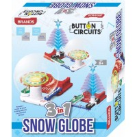 Brands 3 in 1 Snow Globe