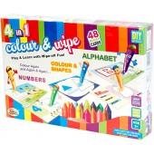 Ekta 4-in-1 Colour & Wipe (Alphabet)