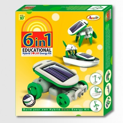 Annie 6-in-1 Hybrid Solar Energy Kit