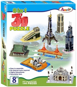 Annie 8-IN-1 3DPuzzle